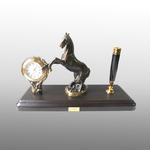 Письменный набор Конь на дыбах средний