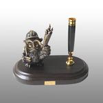 Письменный набор малый Сова нефтянник