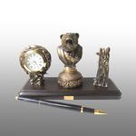 Письменный набор с печатью Медведь лауреат