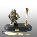 Письменный набор малый Ворона ученая